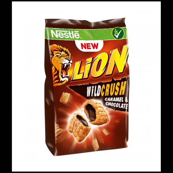 LION Wild Crush Caramel & Chocolate Frokostblanding NESTLE, 150g