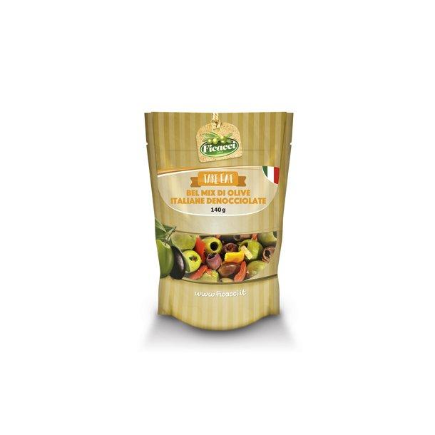 Oliven Bella Italia Steinfri Mix, 140g