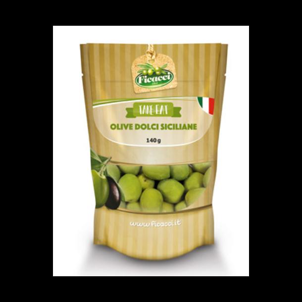 Oliven Dolce fra Sicilia Ficacci, 140g