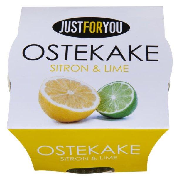 Ostekake Sitron & Lime JustForYou, 80g