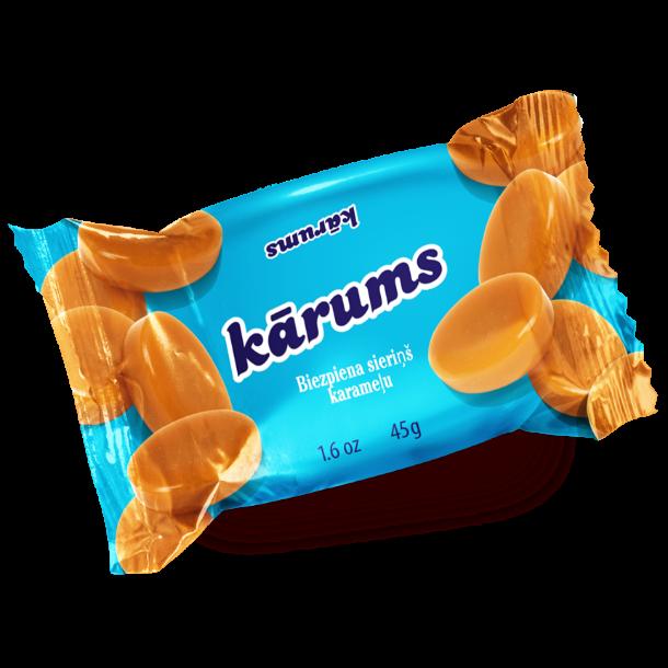 KARUMS Glasert Ostemasse med karamellsmak, 45g