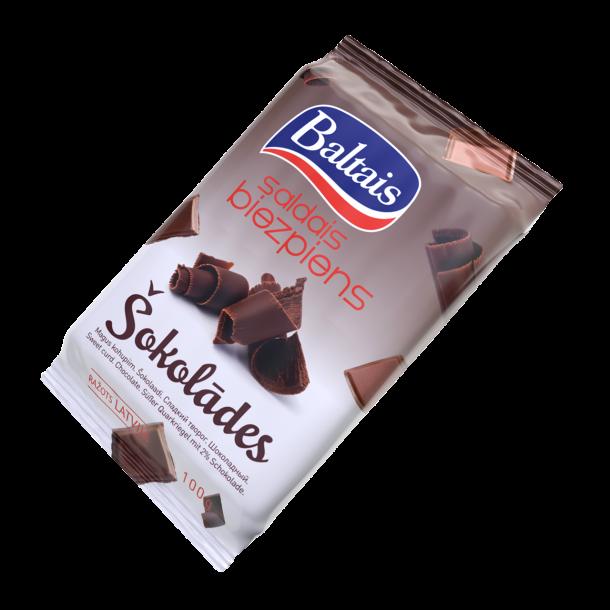 """Søt Ostemasse """"Sjokolade"""" Baltais, 100g"""