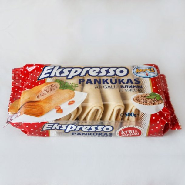 Pannekaker med kjøtt Ariols, 500g