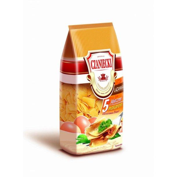 """Pasta med egg """"Lazanka"""" Czaniecki, 250g"""