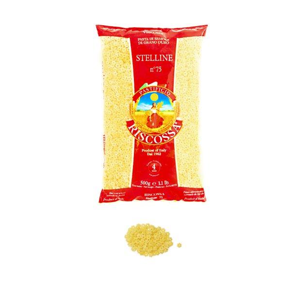 Riscossa pasta - Stelline, 500g