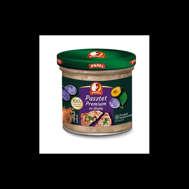 Pate med Plommer Premium GlutenFri Profi,130g