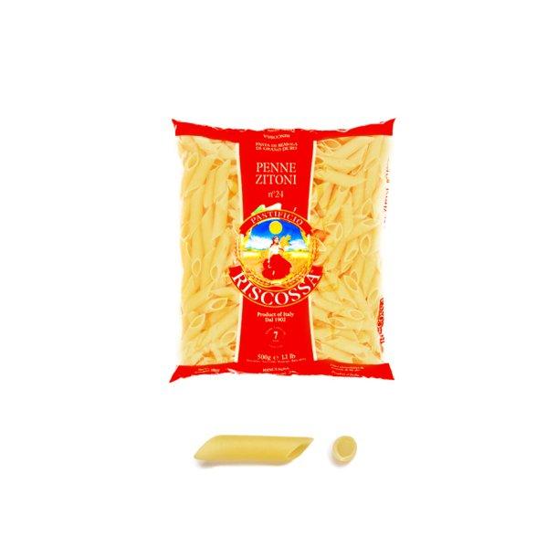 Riscossa pasta - Penne zitoni, 500g