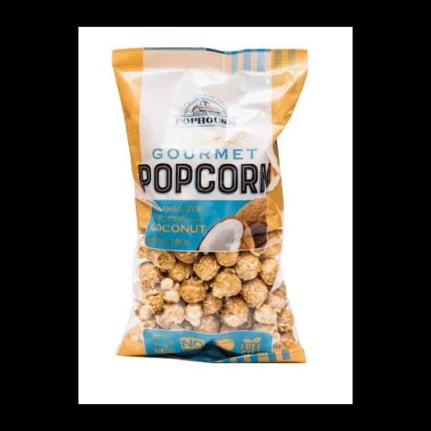 Popcorn Karamellisert med Kokos, 180g