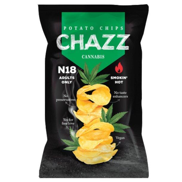 CHAZZ Vegetable Chips med Hemp & Jalapeño, 90g
