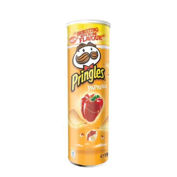 Pringles Paprika Chips, 165g