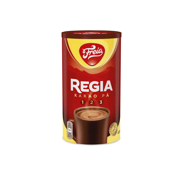 Regia Sjokoladedrikk i boks Freia, 450g