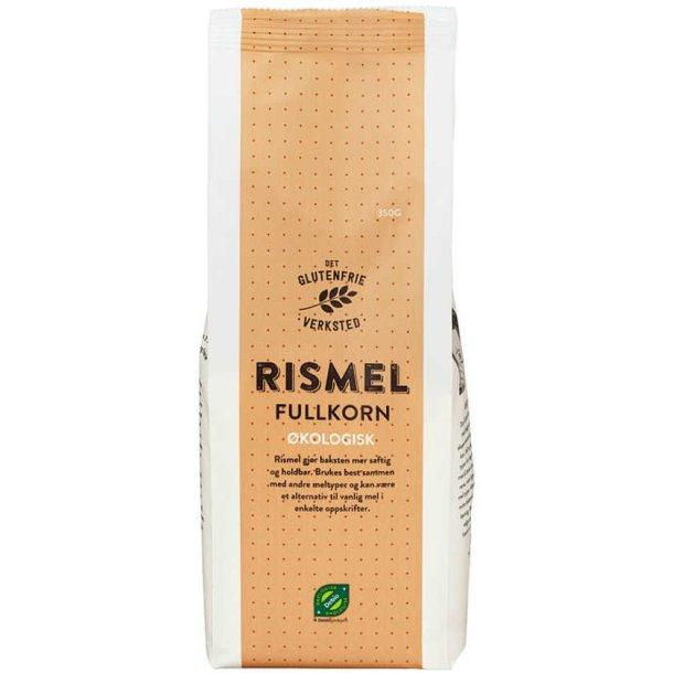 RISMEL FULLKORN ØKO, 350g