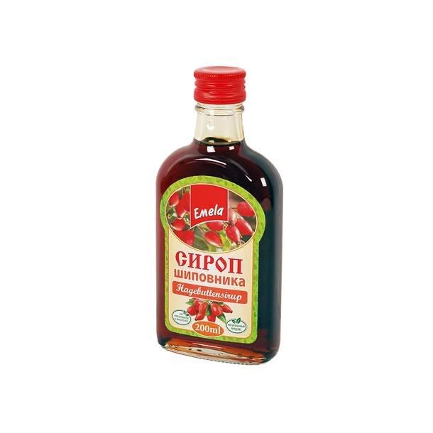 Naturlig Rosehip Sirup Emelja, 200ml