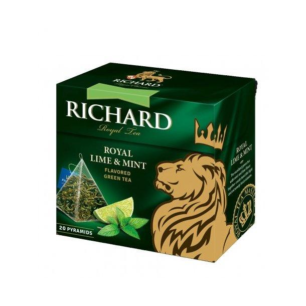 "Richard te grønn ''Royal Lime&Mint"", 36g"