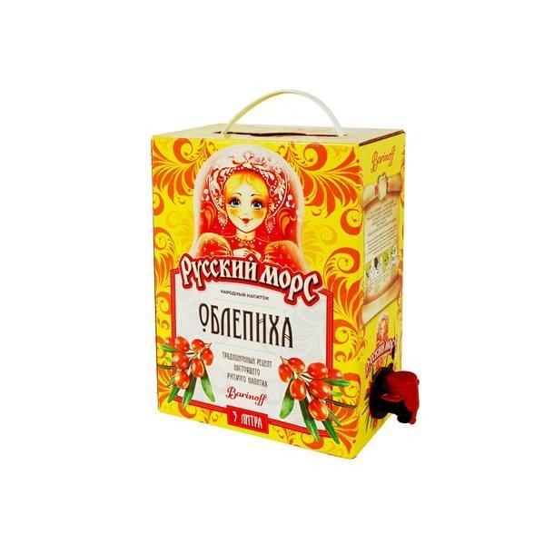 Russisk Drikke Mors - Havtorn (Tindved), 3l