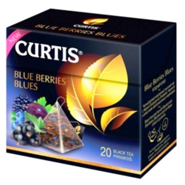 """Curtis te svart """"Blue Berries Blues"""", 36g"""