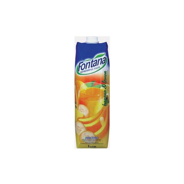 Banan & Sitron juicedrikk Fontana, 1l