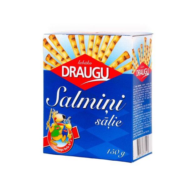 Kjeks Pinner med salt Draugu, 150g