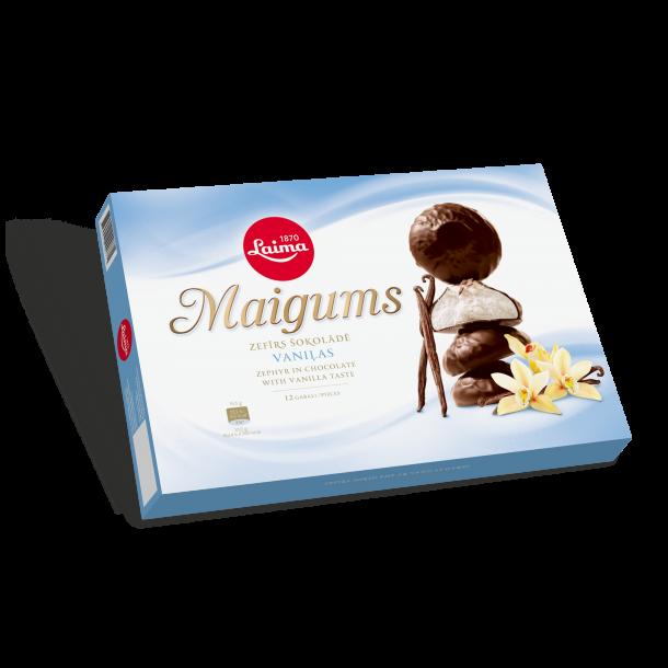 Sefyr Vanilje med Sjokolade Laima, 185g