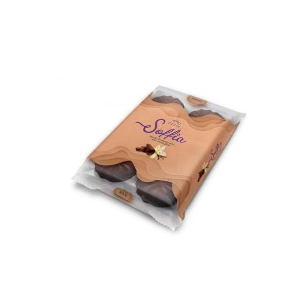 Sefyr Vanilje med Sjokolade Soffia, 216g