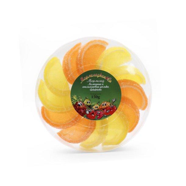 Sitron og appelsingeléskiver, 150g