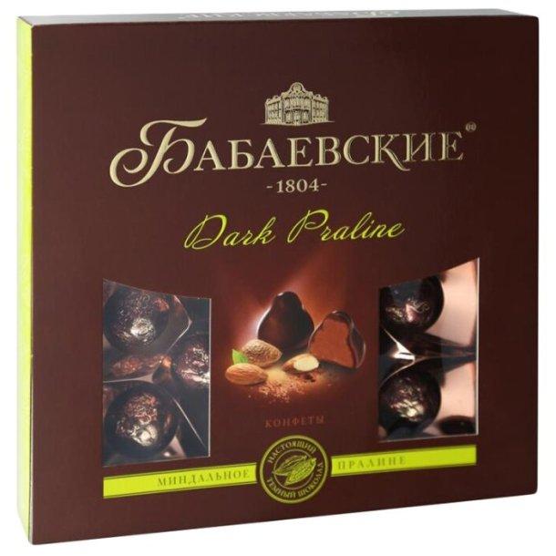 Sjokolade Konfekter Dark Praline Babaevskie, 200g