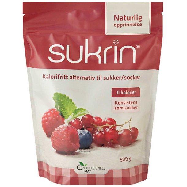 SUKRIN NATURLIG (Sukkererstatning), 500g