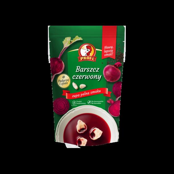 """Suppe """"Barszcz Czerwony"""" Profi, 450ml"""