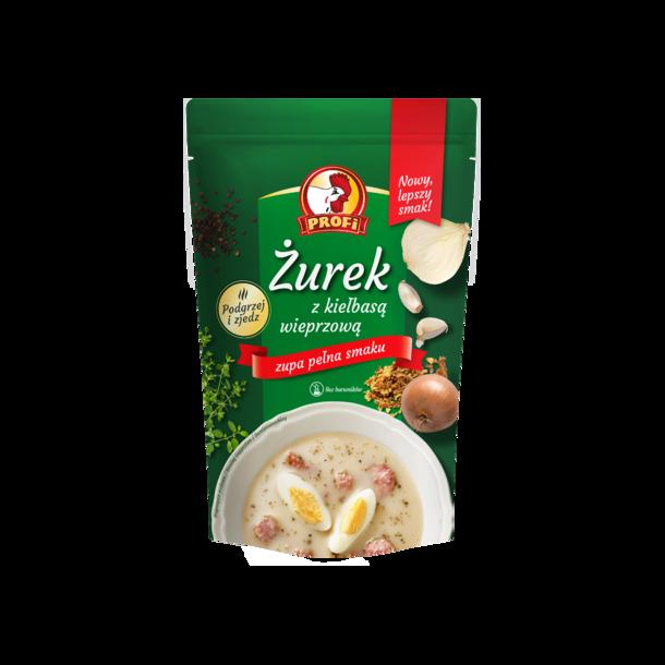 "Suppe ""Żurek"" med pølser Profi, 450ml"