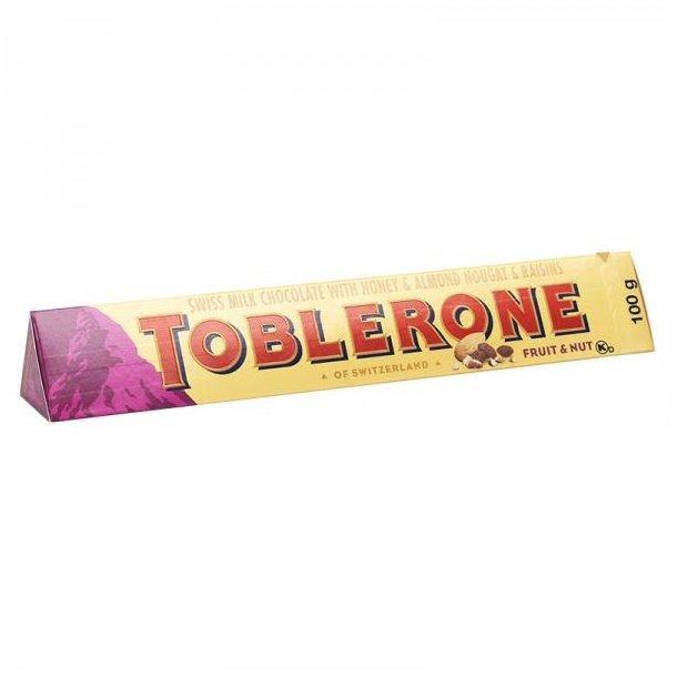 TOBLERONE Fruit & Nut, 100g