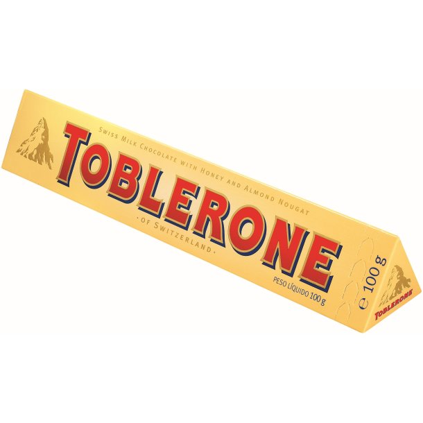 TOBLERONE Melkesjokolade, 100g