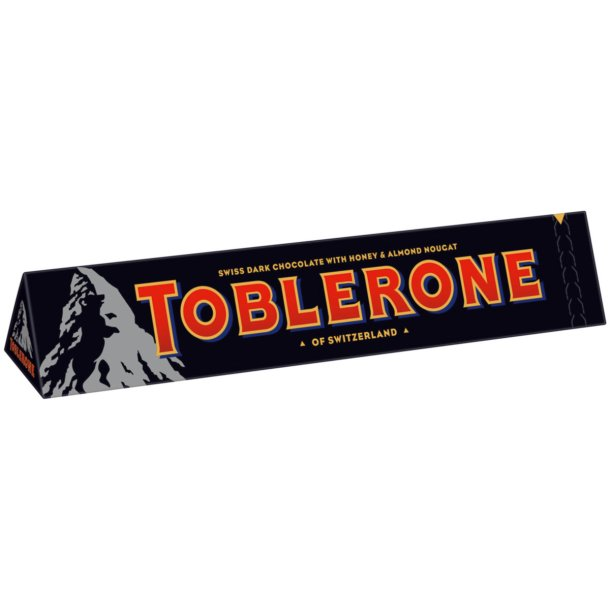 TOBLERONE Mørk sjokolade, 100g