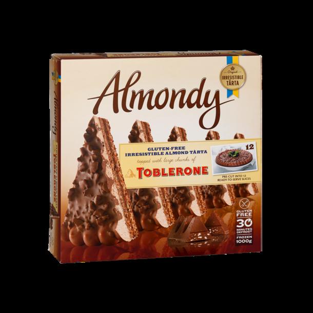 Almondy Mandelkake Toblerone , frossen 1000g