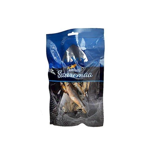 Lufttørket og saltet snacks fra Børstetannet Øglefisk Kaluri, 100g