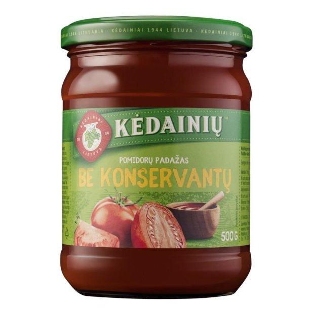 Tomatsaus uten konserveringsmidler Kedainiu, 500g