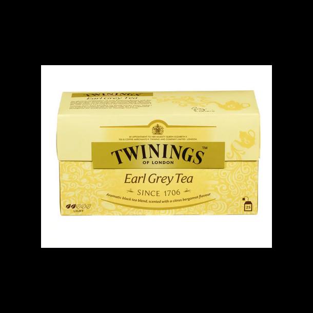 Earl Grey Te Twinings, 25 pos