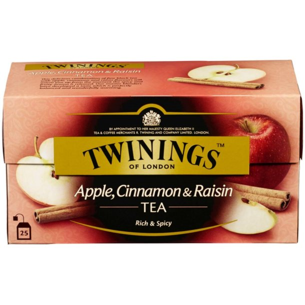 Eple & Kanel & Rosin Te Twinings, 25 pos