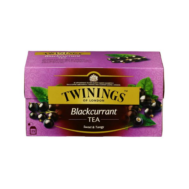 Solbærte Twinings, 25 pos