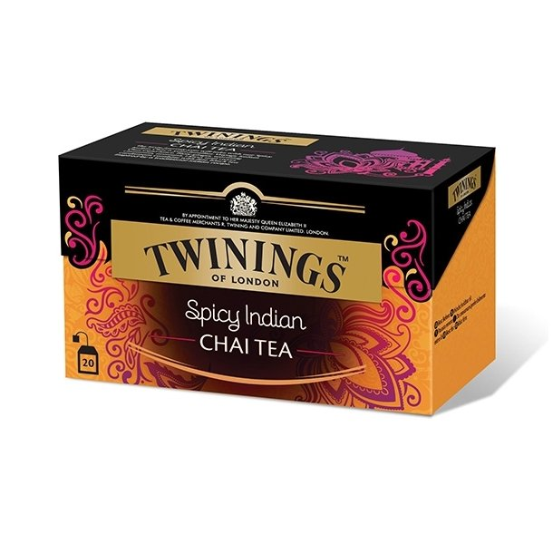 Spicy Indian Chai Twinings, 25 pos