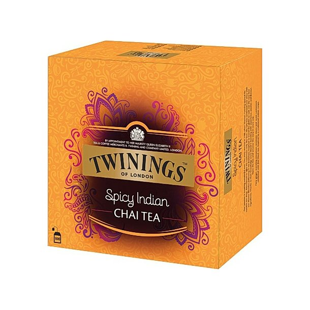 Spicy Indian Chai Twinings, 100pos