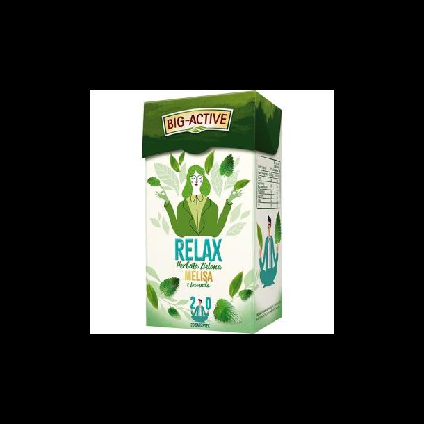 Grønn Te Big-Active Relax, 30g (20x1,5g)