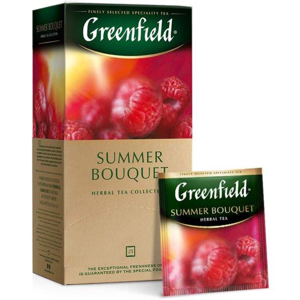 Summer Bouquet Greenfield Herbal Te, 25 puser x 2g