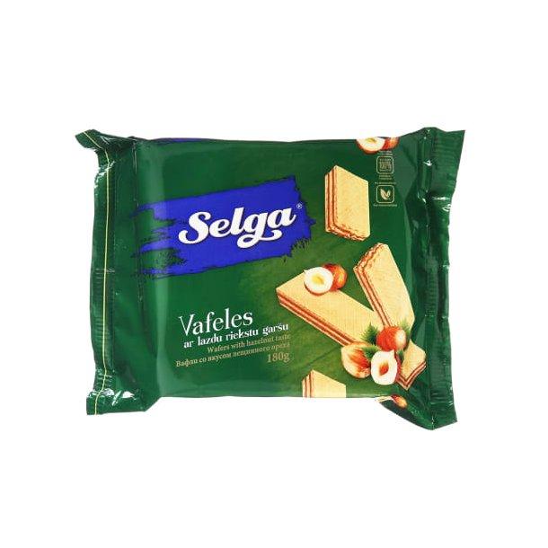 SELGA Vafler med med Hasselnøtter , 180g