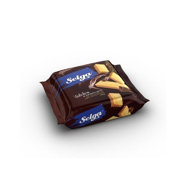 SELGA Vafler med Sjokoladesmak, 180g
