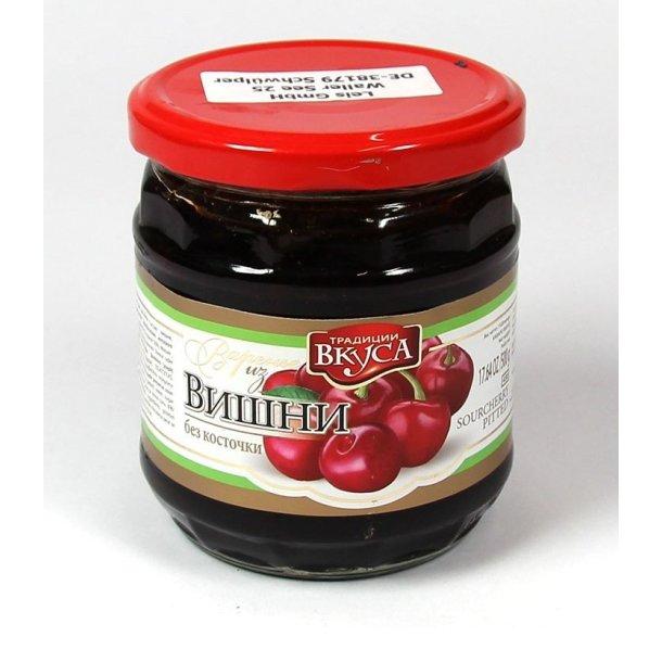 Kirsebærsyltetøy, 500g